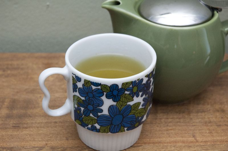 Morning green tea 3