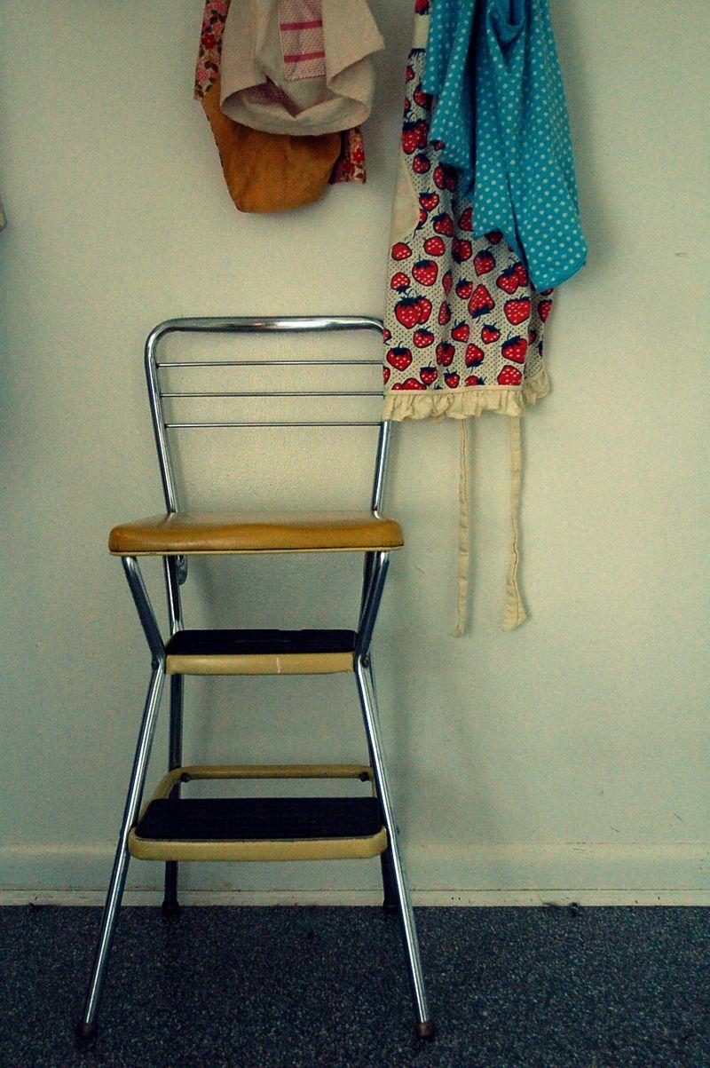 Yellow stool 2
