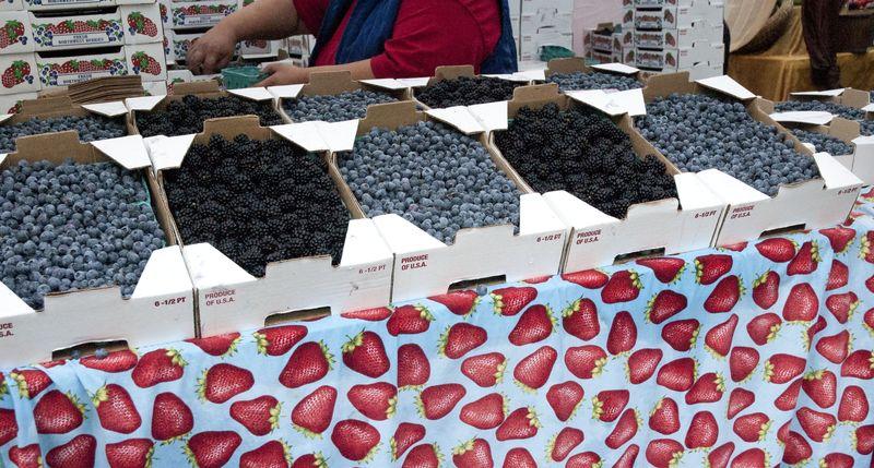 Berry seller