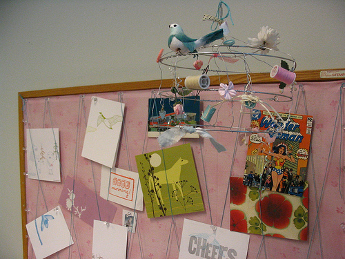 Bulletin_board_and_cagelet