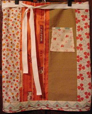 Orange_brown_japanese_apron